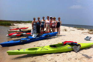 Kayaking on the Eastern Shore of Maryland - Janes Island