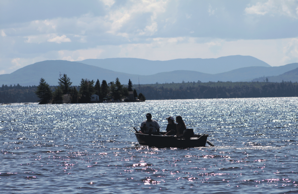 Boating on Moosehead Lake