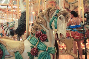 Horse from the Trimper Carousel - Forever Joanne